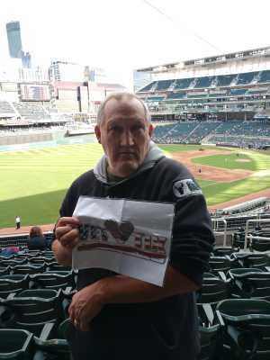 Thomas attended Minnesota Twins vs. Chicago White Sox - MLB on May 24th 2019 via VetTix