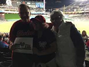 Russell attended Minnesota Twins vs. Chicago White Sox - MLB on May 24th 2019 via VetTix