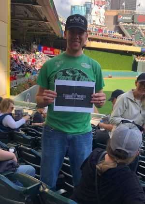 James attended Minnesota Twins vs. Chicago White Sox - MLB on May 24th 2019 via VetTix