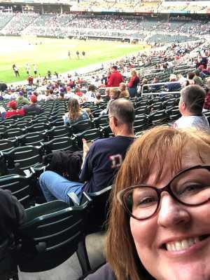 Meg attended Minnesota Twins vs. Chicago White Sox - MLB on May 24th 2019 via VetTix