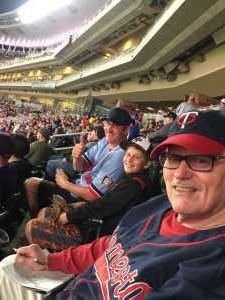 Benson attended Minnesota Twins vs. Chicago White Sox - MLB on May 24th 2019 via VetTix