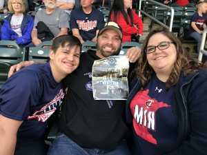 Andrew attended Minnesota Twins vs. Chicago White Sox - MLB on May 24th 2019 via VetTix