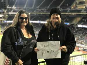 Rachael attended San Diego Padres vs. New York Mets - MLB on May 6th 2019 via VetTix