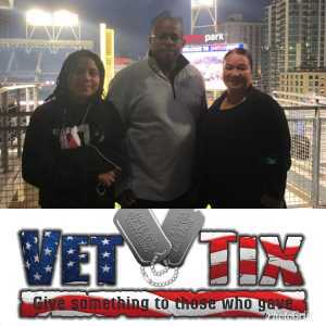 Angelina attended San Diego Padres vs. New York Mets - MLB on May 6th 2019 via VetTix