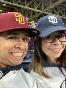 Jacob attended San Diego Padres vs. New York Mets - MLB on May 6th 2019 via VetTix