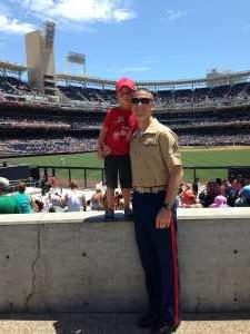 Derek attended San Diego Padres vs. New York Mets - MLB on May 6th 2019 via VetTix