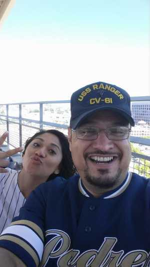 Anthony attended San Diego Padres vs. New York Mets - MLB on May 6th 2019 via VetTix