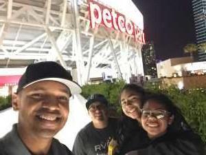 Johann attended San Diego Padres vs. New York Mets - MLB on May 6th 2019 via VetTix