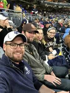 Michael attended San Diego Padres vs. New York Mets - MLB on May 6th 2019 via VetTix