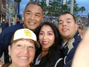 isacc attended San Diego Padres vs. New York Mets - MLB on May 6th 2019 via VetTix