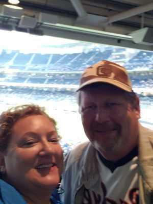 Cheryl & Steve attended San Diego Padres vs. New York Mets - MLB on May 6th 2019 via VetTix