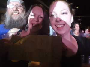 Haley attended An Evening With Shinedown - Pop on May 7th 2019 via VetTix
