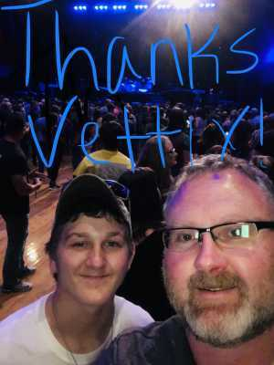 Michael  attended An Evening With Shinedown - Pop on May 7th 2019 via VetTix