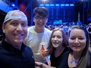 Franklin attended An Evening With Shinedown - Pop on May 7th 2019 via VetTix