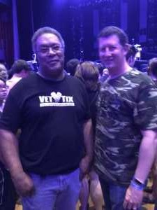 James attended An Evening With Shinedown - Pop on May 7th 2019 via VetTix
