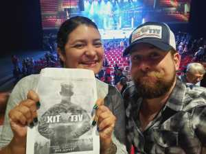 Anthony attended REO Speedwagon on May 1st 2019 via VetTix
