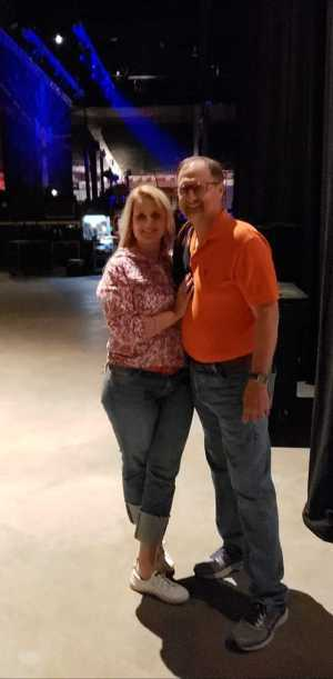 Christopher attended REO Speedwagon on May 1st 2019 via VetTix