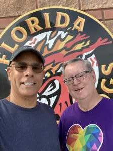 John attended Florida Fire Frogs vs. Fort Myers Miracle - MiLB on May 28th 2019 via VetTix