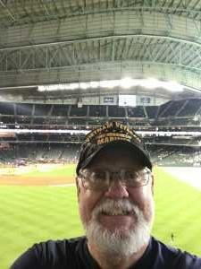 Grady attended Houston Astros vs. Cleveland Indians - MLB on Apr 28th 2019 via VetTix