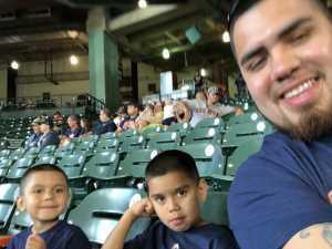 Jonathan  attended Houston Astros vs. Cleveland Indians - MLB on Apr 28th 2019 via VetTix