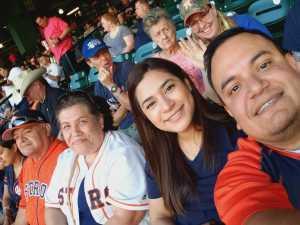 Ignacio attended Houston Astros vs. Cleveland Indians - MLB on Apr 28th 2019 via VetTix