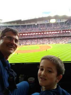 Anthony attended Houston Astros vs. Cleveland Indians - MLB on Apr 28th 2019 via VetTix