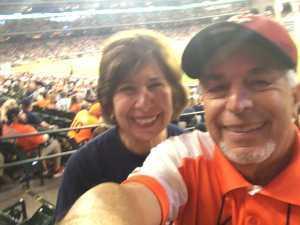Ron attended Houston Astros vs. Cleveland Indians - MLB on Apr 28th 2019 via VetTix