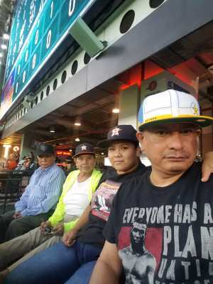 BENIGNO attended Houston Astros vs. Cleveland Indians - MLB on Apr 28th 2019 via VetTix