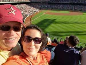 William attended Houston Astros vs. Cleveland Indians - MLB on Apr 28th 2019 via VetTix