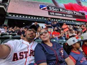 Oscar attended Houston Astros vs. Cleveland Indians - MLB on Apr 28th 2019 via VetTix