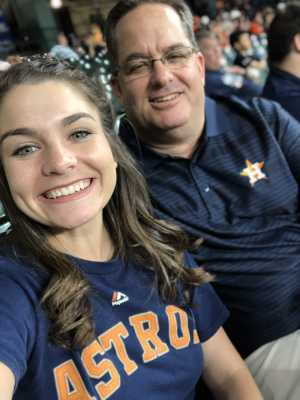 Michael attended Houston Astros vs. Cleveland Indians - MLB on Apr 28th 2019 via VetTix