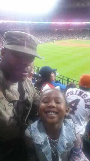 Adrian attended Houston Astros vs. Cleveland Indians - MLB on Apr 28th 2019 via VetTix
