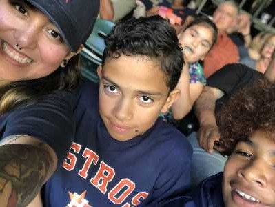Marly attended Houston Astros vs. Cleveland Indians - MLB on Apr 28th 2019 via VetTix