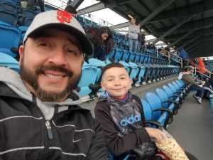 Abel attended San Jose Earthquakes vs. Chicago Fire - MLS on May 18th 2019 via VetTix