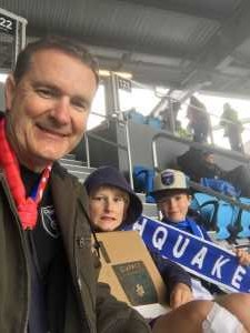 Sam attended San Jose Earthquakes vs. Chicago Fire - MLS on May 18th 2019 via VetTix