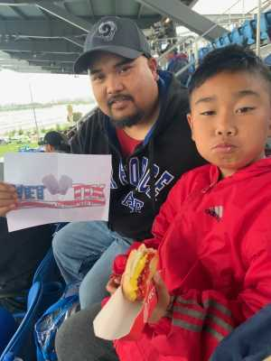 Jeffery attended San Jose Earthquakes vs. Chicago Fire - MLS on May 18th 2019 via VetTix