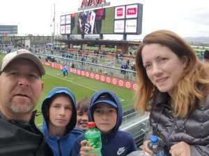 David attended San Jose Earthquakes vs. Chicago Fire - MLS on May 18th 2019 via VetTix