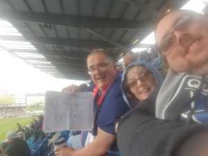 Gary attended San Jose Earthquakes vs. Chicago Fire - MLS on May 18th 2019 via VetTix