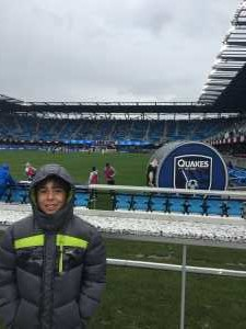 Yury attended San Jose Earthquakes vs. Chicago Fire - MLS on May 18th 2019 via VetTix