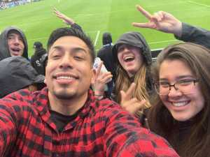 Alonso attended San Jose Earthquakes vs. Chicago Fire - MLS on May 18th 2019 via VetTix