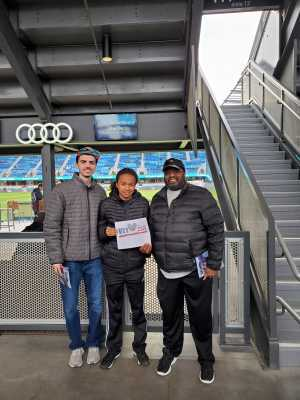 Don attended San Jose Earthquakes vs. Chicago Fire - MLS on May 18th 2019 via VetTix