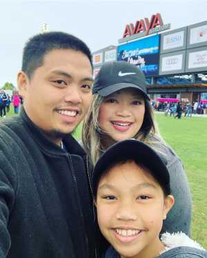Allen attended San Jose Earthquakes vs. Chicago Fire - MLS on May 18th 2019 via VetTix