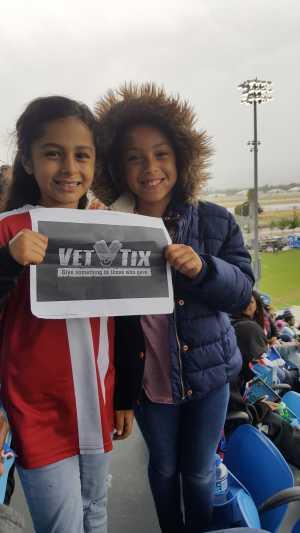 Nono attended San Jose Earthquakes vs. Chicago Fire - MLS on May 18th 2019 via VetTix