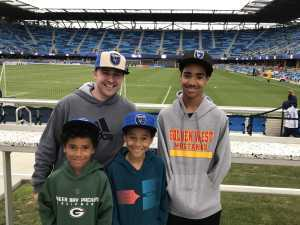 Seth attended San Jose Earthquakes vs. Chicago Fire - MLS on May 18th 2019 via VetTix