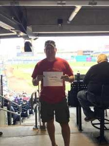 John attended UCONN Huskies vs. Wichita State - NCAA Baseball on May 4th 2019 via VetTix