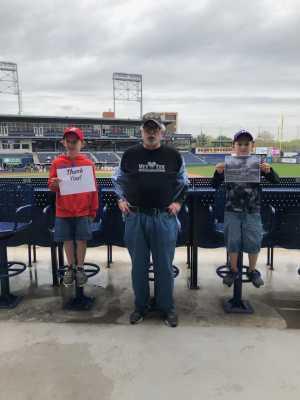 Nicholas attended UCONN Huskies vs. Wichita State - NCAA Baseball on May 4th 2019 via VetTix