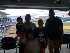Placido attended UCONN Huskies vs. Wichita State - NCAA Baseball on May 4th 2019 via VetTix
