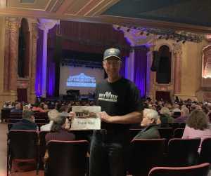 Scott attended The Legendary Don McLean on May 11th 2019 via VetTix
