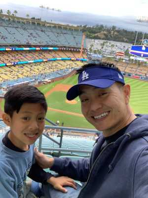 ryan attended Los Angeles Dodgers vs. Washington Nationals - MLB on May 10th 2019 via VetTix