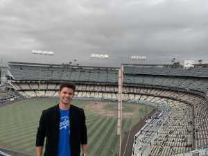 Brady attended Los Angeles Dodgers vs. Washington Nationals - MLB on May 10th 2019 via VetTix